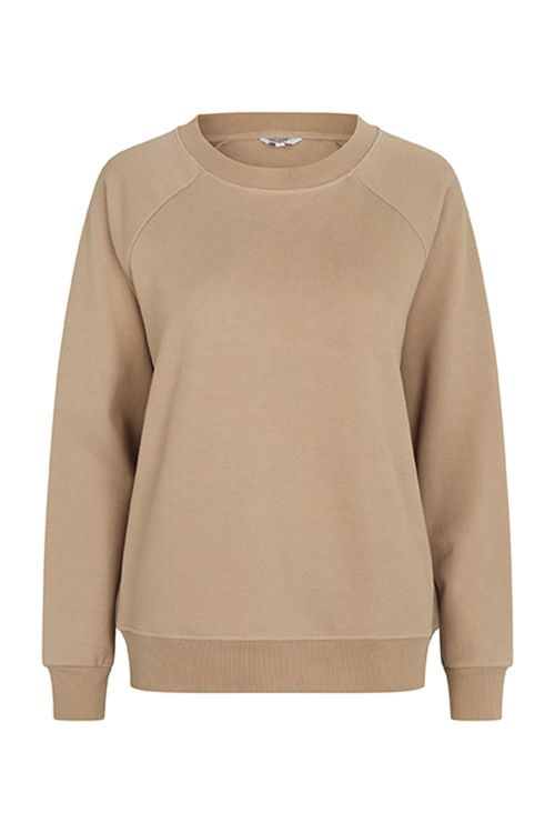 mbyM Sweatshirt Myrah Jess Top Prairie Sand Front