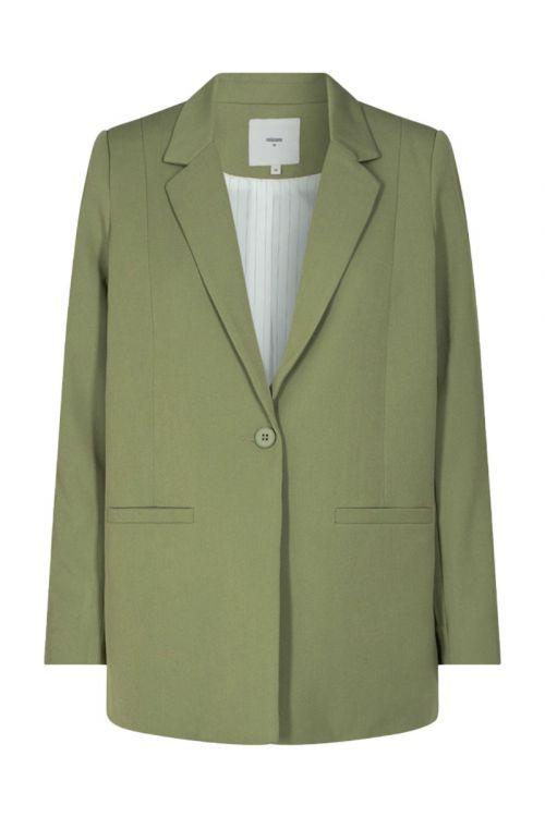 Minimum Blazer Tara Oil Green Front