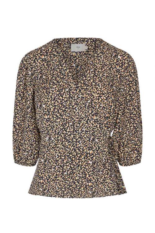 Minimum - Bluse - Melany Blouse - Navy Blazer