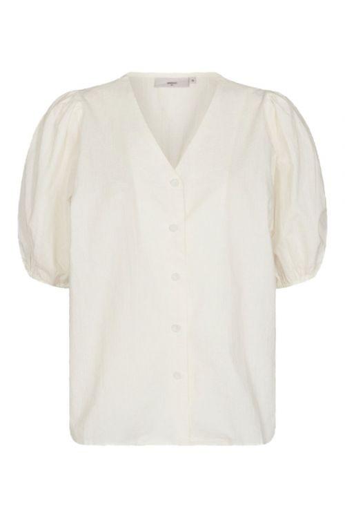Minimum - Bluse - Oretta - Broken White
