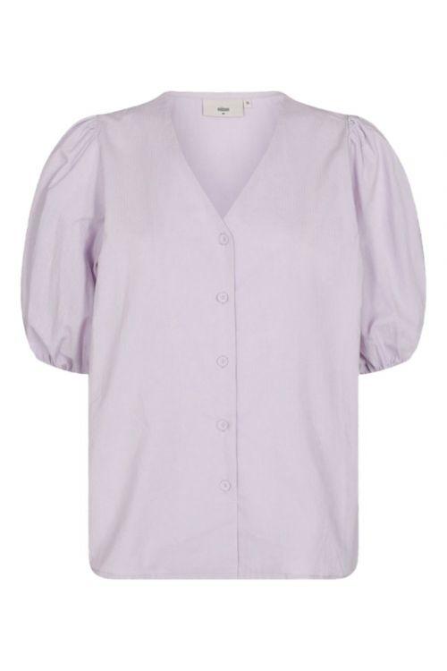 Minimum - Bluse - Oretta - Lavender Blue