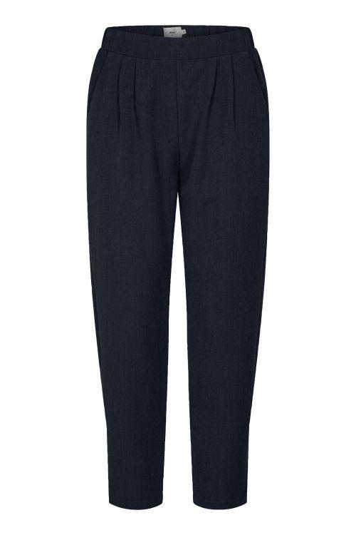 Minimum Bukser Sofja Navy Blazer Front