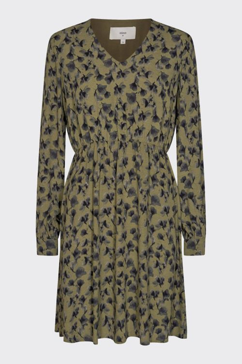 Minimum Kjole Astenna Dress Dark Olive Front