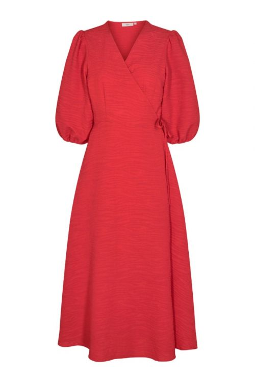 Minimum - Kjole - Elmina - Fiery Red