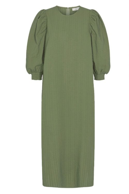 Minimum Kjole Hursine Dress Oil green Front