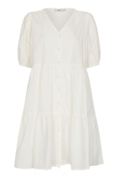 Minimum Kjole Miamea Broken White Front