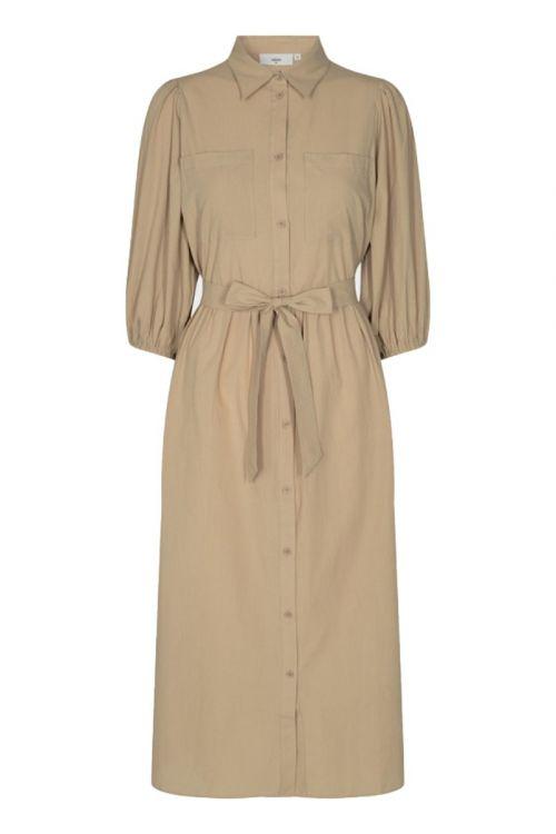 Minimum - Kjole - Mysalina Dress - Khaki Green