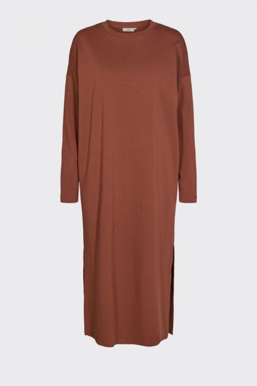 Minimum - Kjole - Regizze Midi Dress - Smoked Paprika