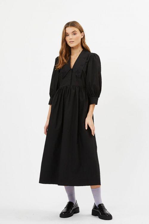 Minimum - Kjole - Rikkaly Midi Dress - Black