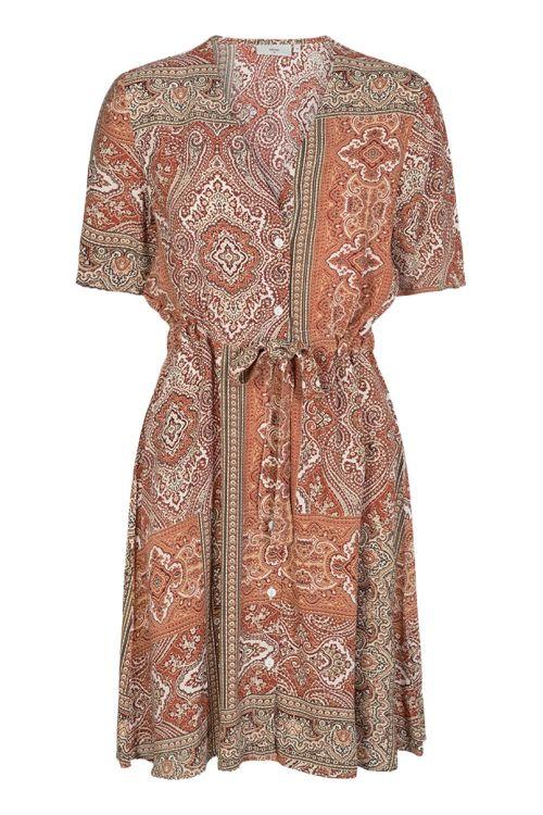 Minimum Kjole Solally Dress Picante Front