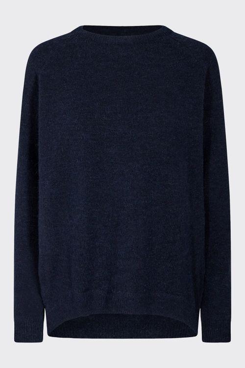 Minimum Strik Kita Dress Blue Front