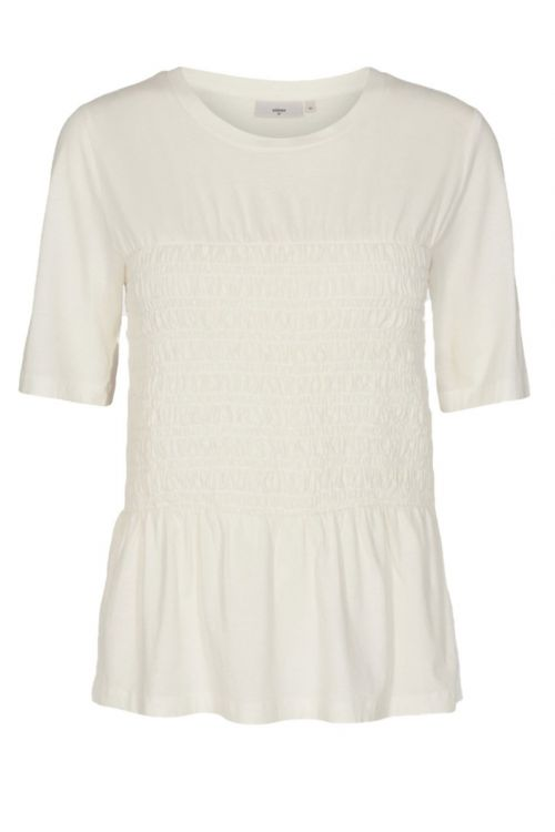 Minimum - T-shirt - Smoka - Broken White