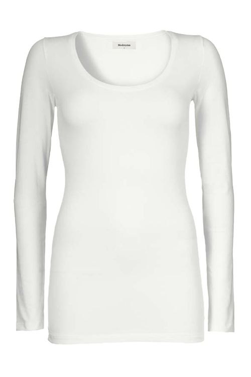 Modstrom Bluse Turbo White Front