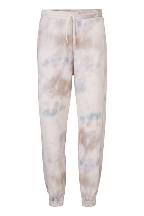 Modström - Bukser - Holly Print Pants - Sage Tie Dye