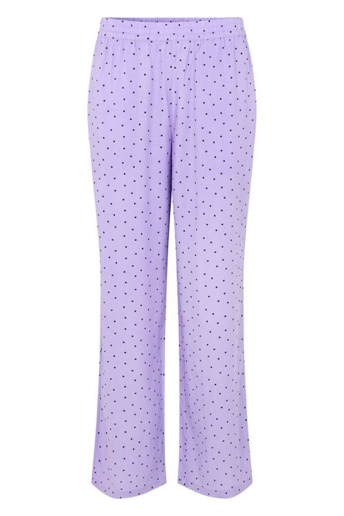 Modström - Bukser - Talle Print Pants - Lavender Polka