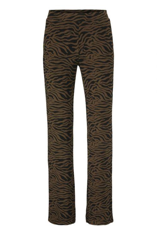 Modström - Bukser - Ming Pants - Pecan Zebra