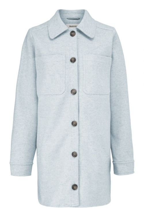Modström - Jakke - Helga Coatigan - Chambray Blue
