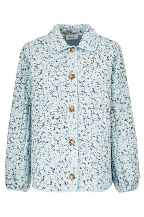 Modström Jakke Tonni Print Jacket Blue Tulip Front