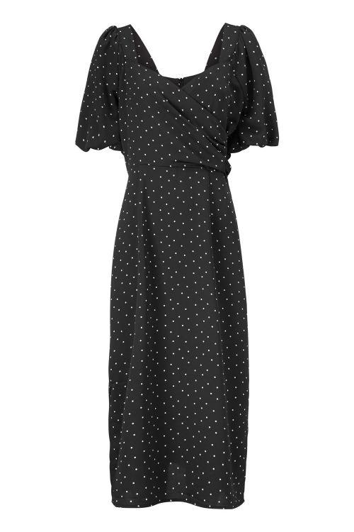 Modström Kjole Elvira Print Dress Polka Front