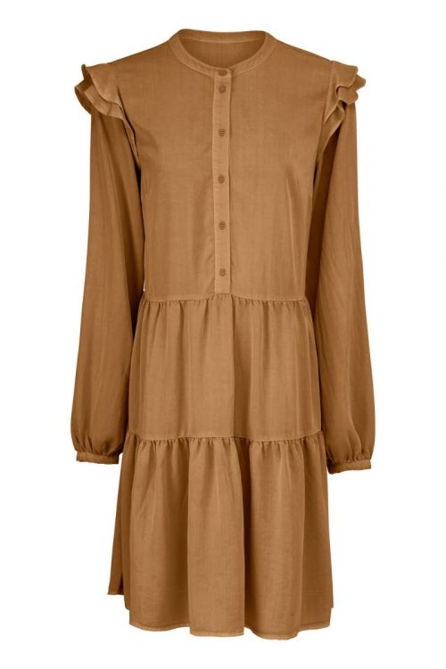 Modström Kjole Henry Dress Brown Oak Front