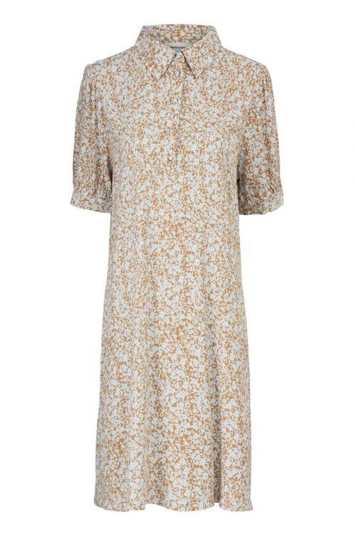 Modström - Kjole - Isa Print Dress - Bluebell