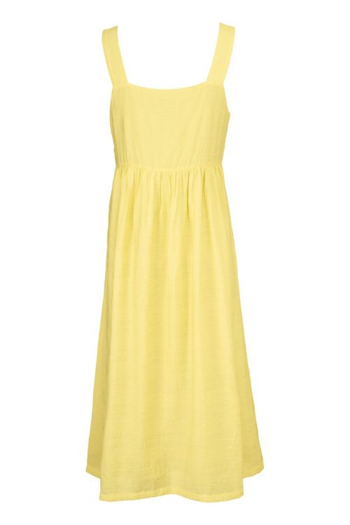 Modström Kjole Isla Dress Lemon Haze Front