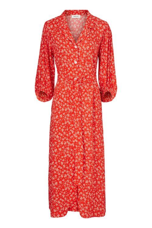 Modström Kjole Lotte Print Dress Cherry Blossom Front