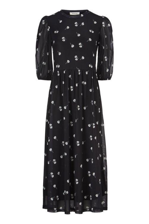 Modström - Kjole - Missy Print Dress - Dark Daisy
