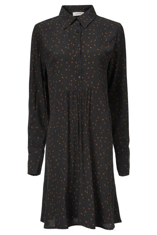 Modström Kjole Tessi Print Dress Chestnut Bloom Front