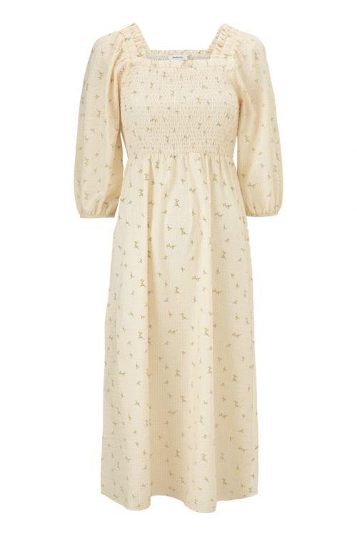 Modström Kjole Tinne Print Dress Lemon Bloom Front