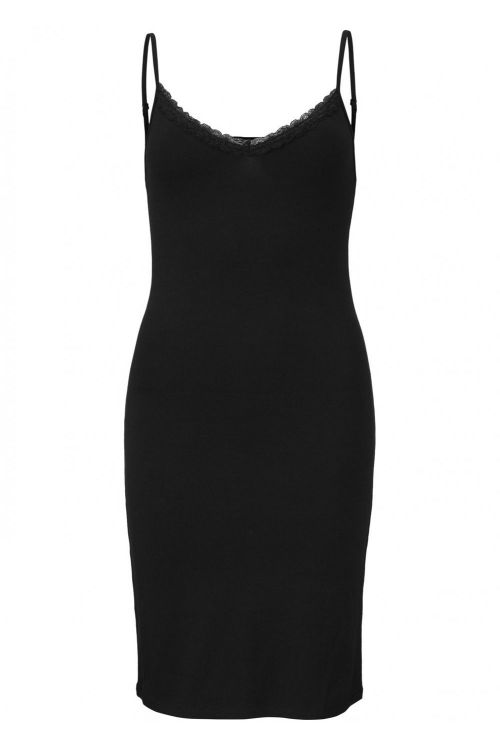 Modström Kjole Toy Strap Dress Black Front