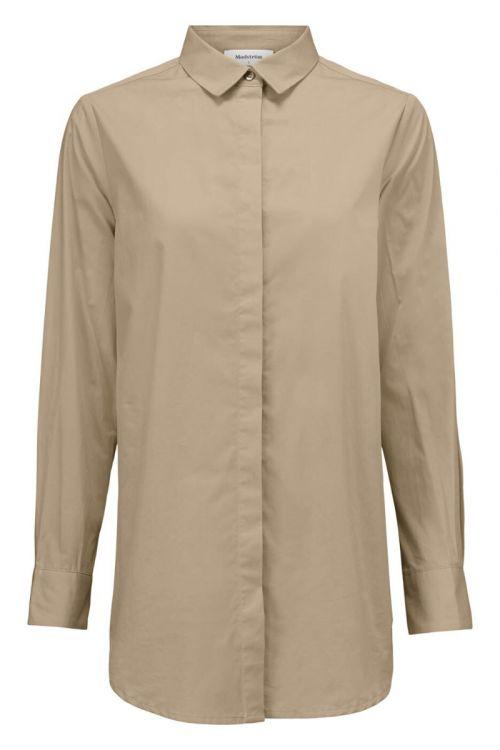 Modström Skjorte Arthur Shirt Powder Sand Front