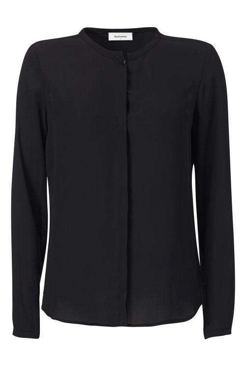 Modström Skjorte Cyler Shirt Black Front