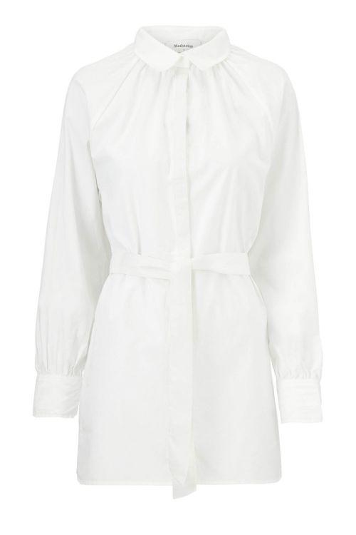Modström Skjorte Grete Shirt Off White Front