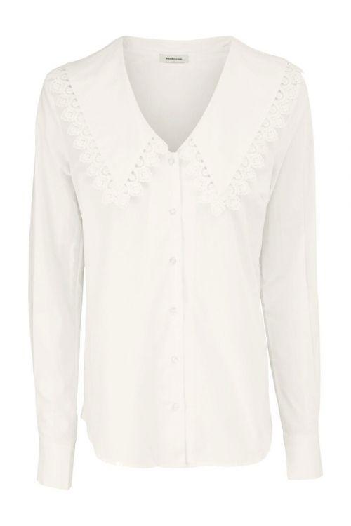 Modström Skjorte Hemera Shirt Off White Front