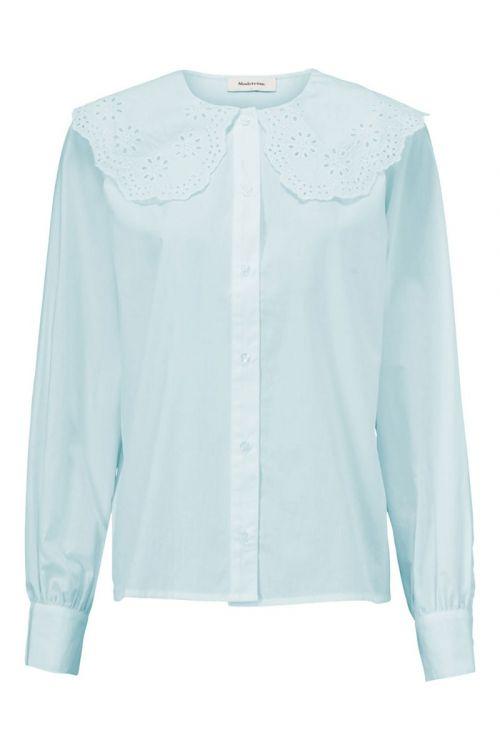 Modström Skjorte Jadie Shirt Blue Wash Front