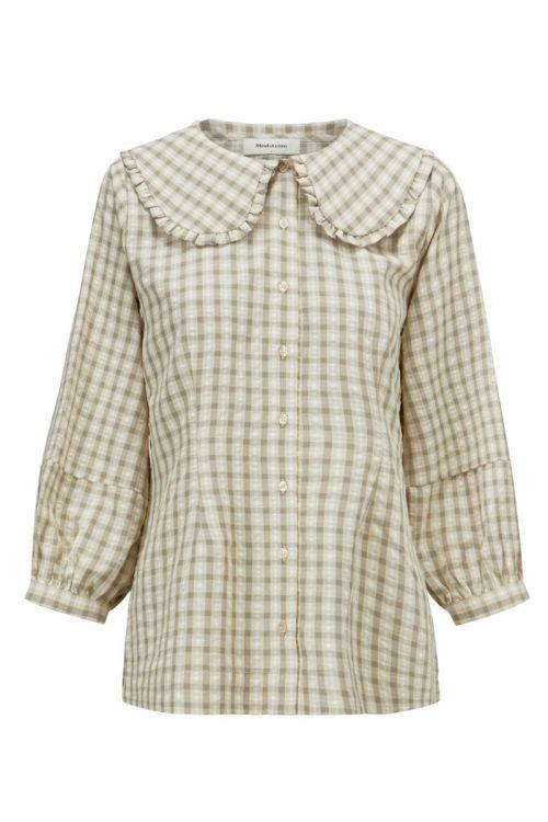 Modström - Skjorte - Jose Shirt - Cream Milk