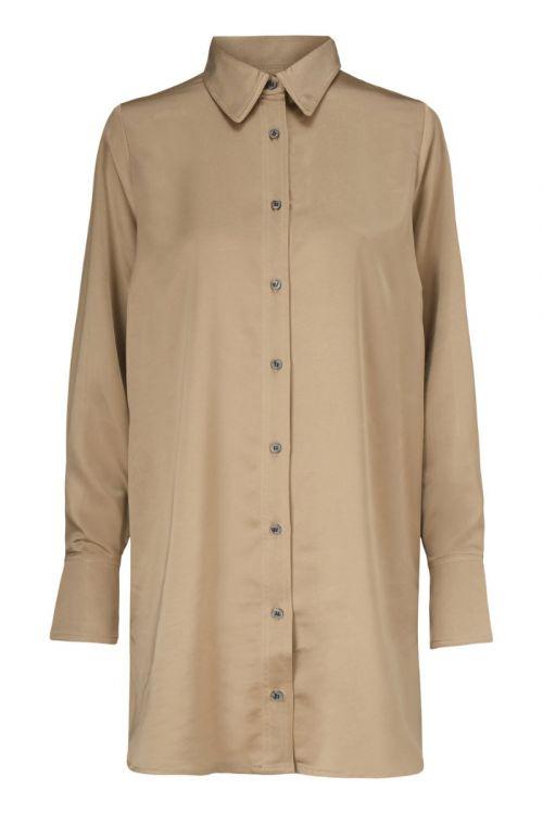 Modström - Skjorte - Leland Shirt - Camel Dust