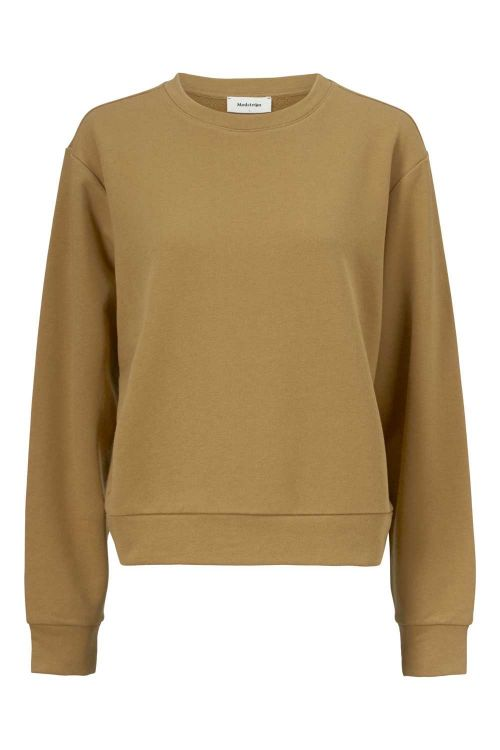 Modström Sweat Holly Sweat Dark Fennel Front
