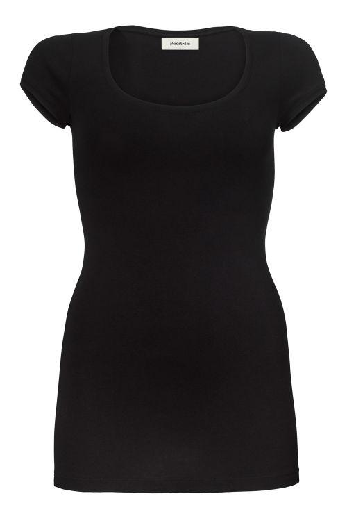 Modström T-shirt Trick Black Front