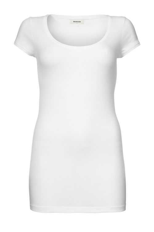 Modström T-shirt Trick White Front