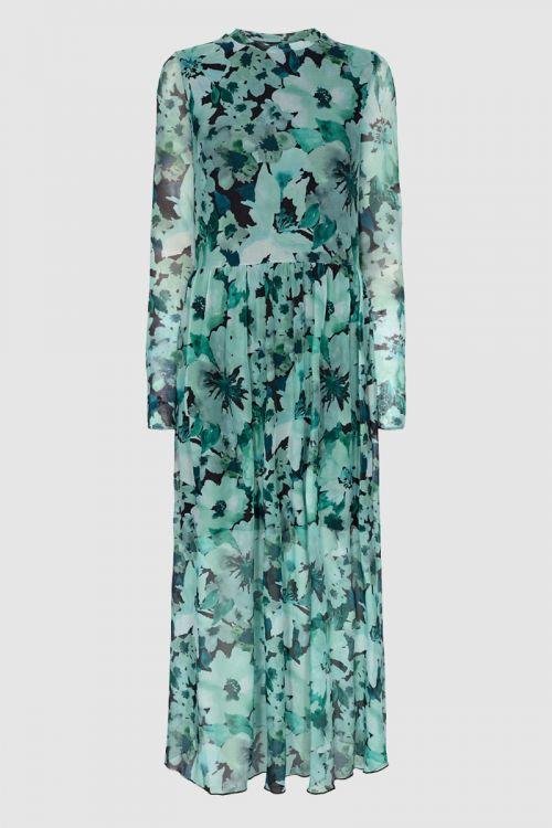 Moves By Minimum Kjole Marisan Dress Bosphorus Front