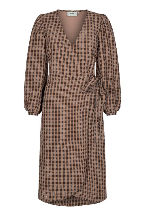 Moves By Minimum Kjole Pimkie Dress Tobacco Brown Front