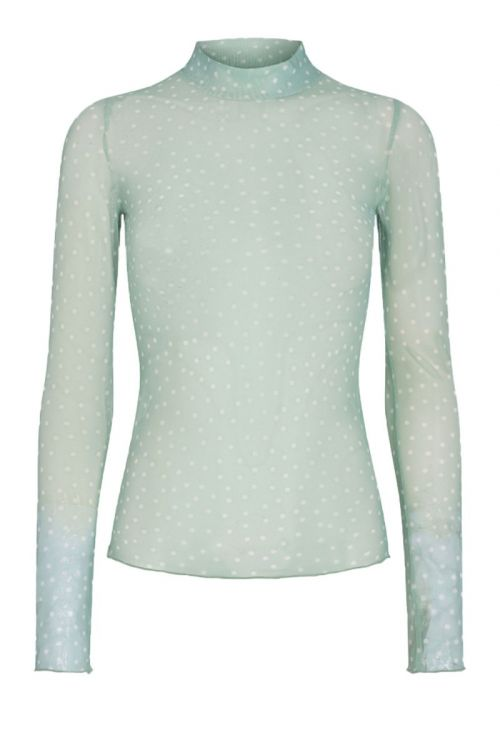 Moves By Minimum Bluse Filana Blouse Fair Green Front