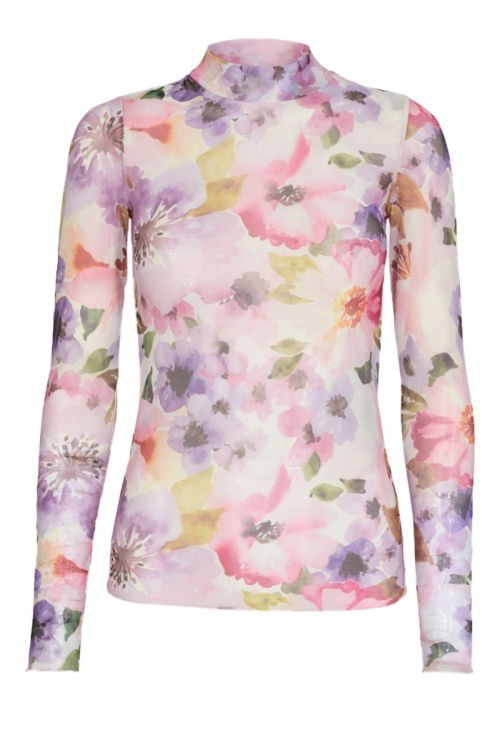 Moves By Minimum Bluse Filana Lavender Front