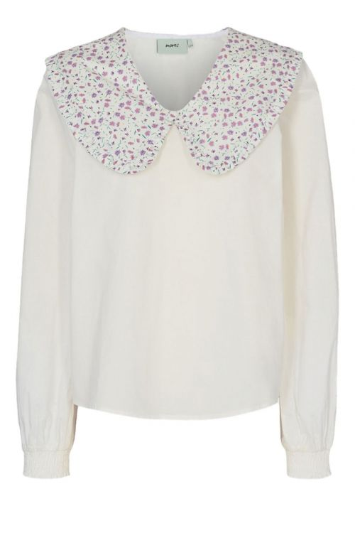 Moves By Minimum Bluse Lunialla Blouse White Front