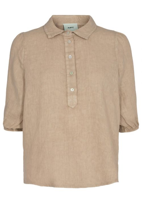 Moves by Minimum Bluse Lunima Dusty Sand Front