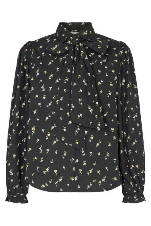 Moves By Minimum - Bluse - Rosamy Shirt - Black