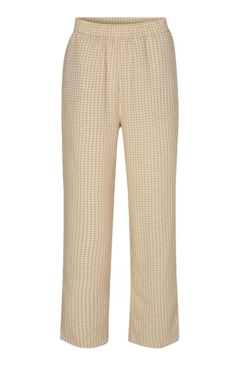 Moves By Minimum Bukser Pynne Pants Ivory Cream Front