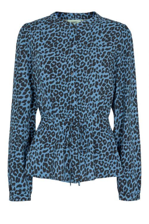 Moves By Minimum - Bluse - Trinne - Azur Blue